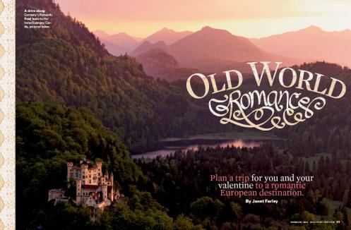 Old world travel